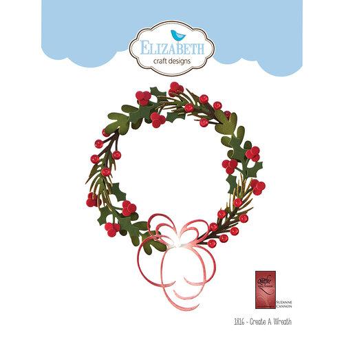 Elizabeth Craft Designs - Christmas - Dies - Create A Wreath