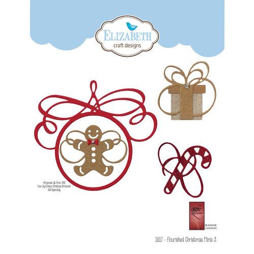 Elizabeth Craft Designs - Dies - Flourished Christmas Minis 3