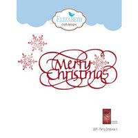 Elizabeth Craft Designs - Dies - Merry Christmas 4