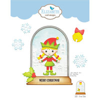 Elizabeth Craft Designs - Christmas - Dies - Snow Globe