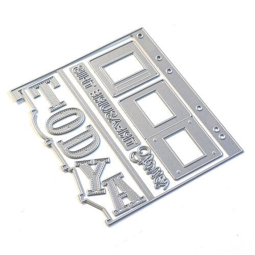 Elizabeth Craft Designs - Dies - Sidekick Essentials 10 - Today With Side Frames