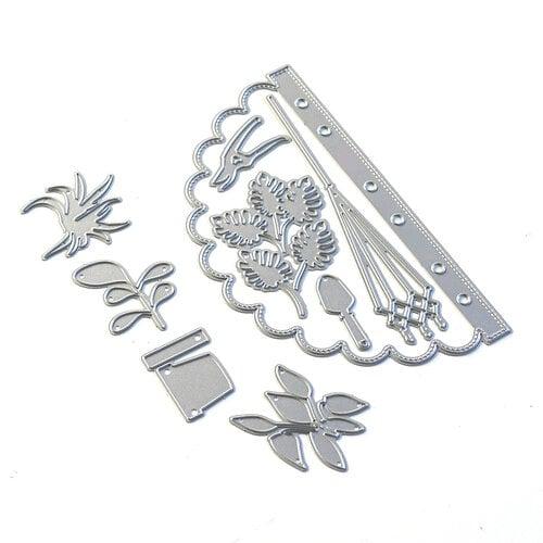 Elizabeth Craft Designs - Dies - Sidekick Essentials 12 - Scallop Insert