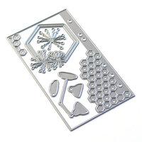 Elizabeth Craft Designs - Dies - Sidekick Essentials 13 - Hexagon Insert