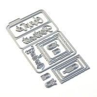 Elizabeth Craft Designs - Dies - Sidekick Essentials 14 - Bonjour Fold Out