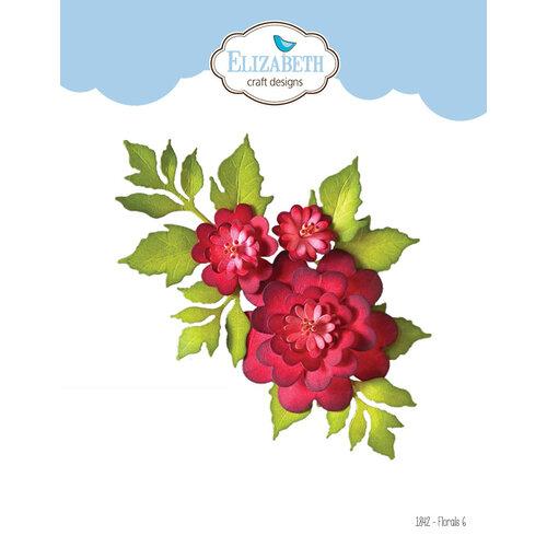 Elizabeth Craft Designs - Florals Volume II Collection - Dies - Florals 6