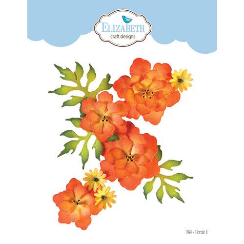 Elizabeth Craft Designs - Florals Volume II Collection - Dies - Florals 8