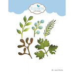 Elizabeth Craft Designs - Florals Volume II Collection - Dies - Leaves and Branches