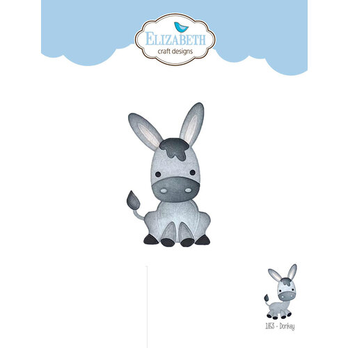 Elizabeth Craft Designs - Joset's Life Is Better On The Farm Collection - Dies - Donkey