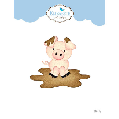 Elizabeth Craft Designs - Joset's Life Is Better On The Farm Collection - Dies - Pig