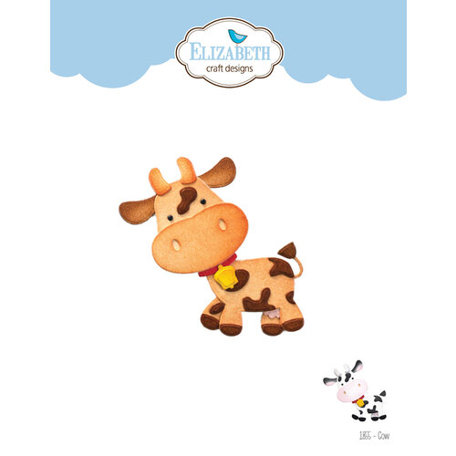 Elizabeth Craft Designs - Life Is Better On The Farm Collection - Dies - Cow