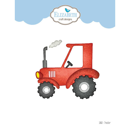 Elizabeth Craft Designs - Life Is Better On The Farm Collection - Dies - Tractor