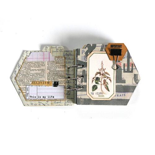 Elizabeth Craft Designs - Dies - Planner Essentials 44 - Folded Arrow Insert