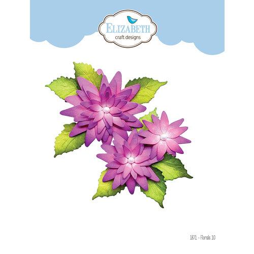 Elizabeth Craft Designs - Florals Volume 3 Collection - Dies - Florals 10