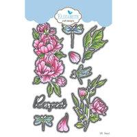 Elizabeth Craft Designs - Beautiful Blooms 2 Collection - Dies - Respect