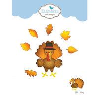 Elizabeth Craft Designs - Happy Harvest Collection - Dies - Turkey