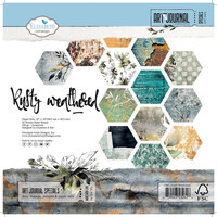 Elizabeth Craft Designs - 12 x 12 Paper Pad - Rusty Weathered