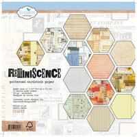 Elizabeth Craft Designs - Reminiscence Collection - 12 x 12 Paper Pad