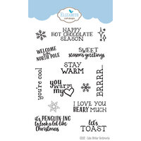 Elizabeth Craft Designs - Christmas - Clear Photopolymer Stamps - Cute Winter Sentiments