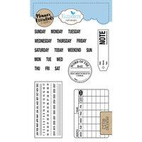 Elizabeth Craft Designs - Clear Photopolymer Stamps - Calendar