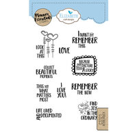 Elizabeth Craft Designs - Clear Photopolymer Stamps - Remember