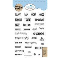Elizabeth Craft Designs - Clear Photopolymer Stamps - Moods