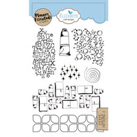 Elizabeth Craft Designs - Clear Photopolymer Stamps - Patterns 2