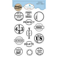 Elizabeth Craft Designs - Clear Photopolymer Stamps - Circle Labels