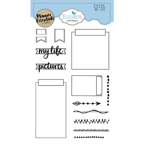Elizabeth Craft Designs - Clear Photopolymer Stamps - My Life