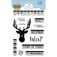 Elizabeth Craft Designs - Christmas - Clear Photopolymer Stamps - December Moments