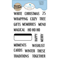 Elizabeth Craft Designs - Christmas - Clear Photopolymer Stamps - Winter Words