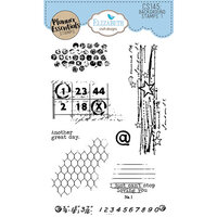 Elizabeth Craft Designs - Clear Photopolymer Stamps - Background Stamps 1