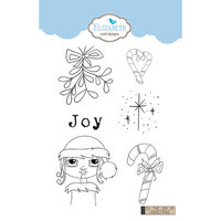 Elizabeth Craft Designs - Clear Photopolymer Stamps - Oh the Joy of Christmas