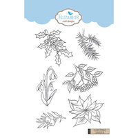 Elizabeth Craft Designs - Clear Photopolymer Stamps - Christmas Garden