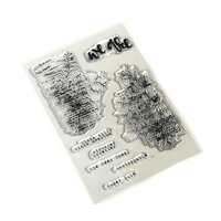 Elizabeth Craft Designs - Clear Photopolymer Stamps - Words and Layers