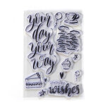 Elizabeth Craft Designs - Clear Photopolymer Stamps - Your Day