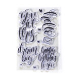 Elizabeth Craft Designs - Clear Photopolymer Stamps - Hello
