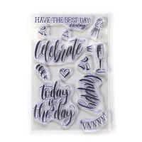 Elizabeth Craft Designs - Clear Photopolymer Stamps - Celebrate