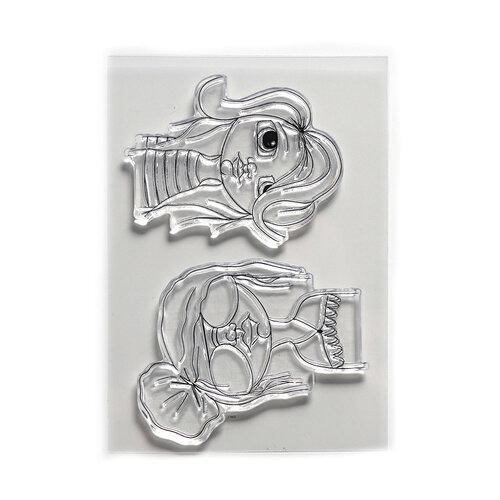 Elizabeth Craft Designs - Clear Photopolymer Stamps - Hip Chicks