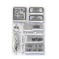 Elizabeth Craft Designs - Clear Photopolymer Stamps - Home and Nature