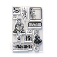 Elizabeth Craft Designs - Clear Photopolymer Stamps - Planted With Love