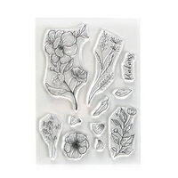 Elizabeth Craft Designs - Beautiful Blooms Collection - Clear Photopolymer Stamps - Kindness