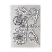Elizabeth Craft Designs - Beautiful Blooms 2 Collection - Clear Photopolymer Stamps - Peace