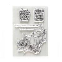 Elizabeth Craft Designs - Clear Photopolymer Stamps - Pumpkin Spice Season