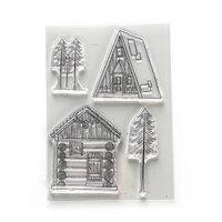 Elizabeth Craft Designs - Clear Photopolymer Stamps - Cabin Love