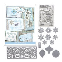 Elizabeth Craft Designs - Dies and Clear Photopolymer Stamp Set - Classic Christmas Kit