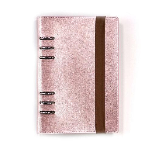 Elizabeth Craft Designs - A5 Planner Binder - Rose Gold
