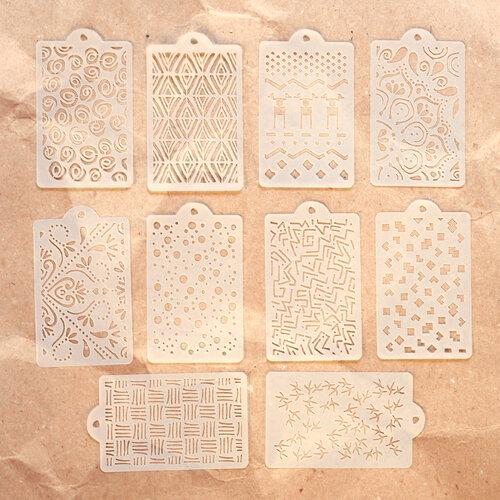 Elizabeth Craft Designs - Pattern Stencil Pack