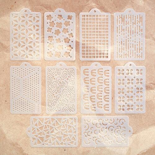 Elizabeth Craft Designs - Stencils - Happy Patterns