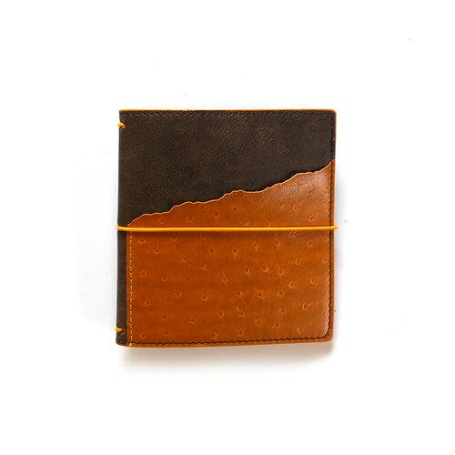 Elizabeth Craft Designs - Traveler's Notebook - Espresso Ochre