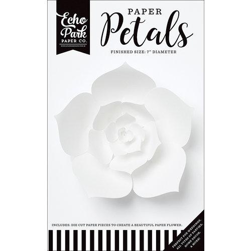 Echo Park - Paper Petals - Dahlia - Small - White